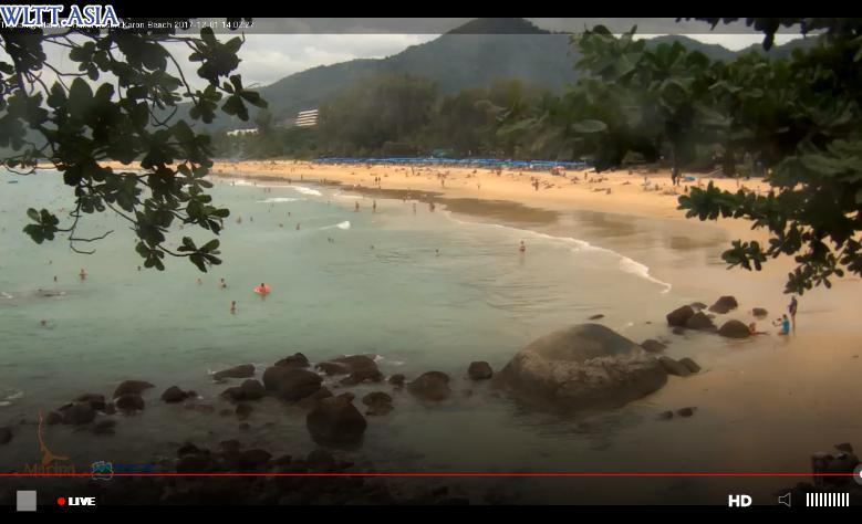 webcam Karon Beach Phuket Thailand